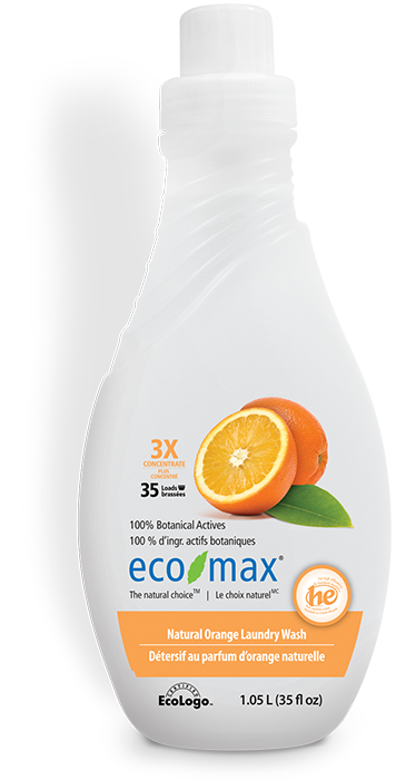 3X Natural Orange Laundry Wash