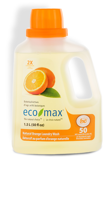 2X Natural Orange Laundry Wash